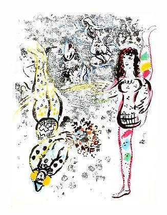 Marc Chagall - Acrobats at Play
