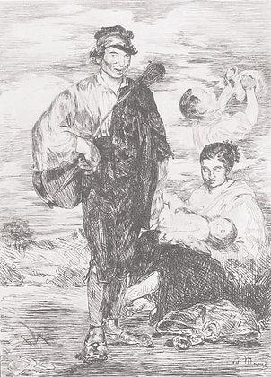 Édouard Manet - Les Gitanos