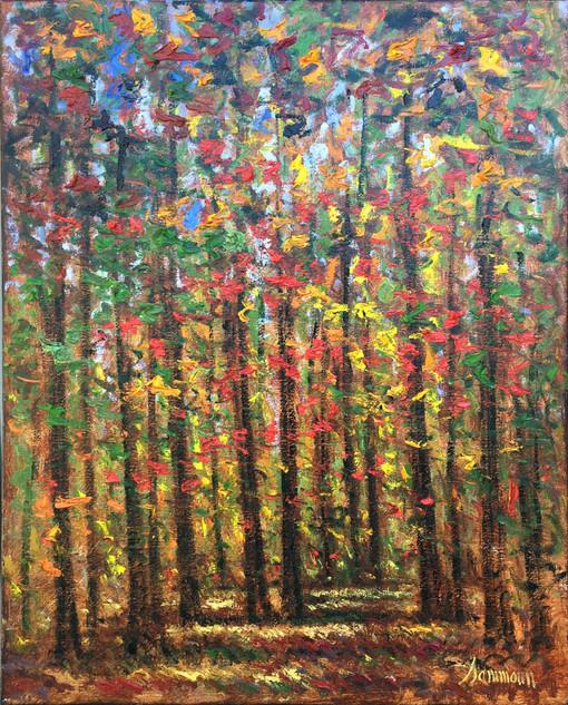 """Samir Sammoun """"Autumn, McGill Park"""""""