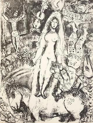 Marc Chagall - Le Cirque M. 518