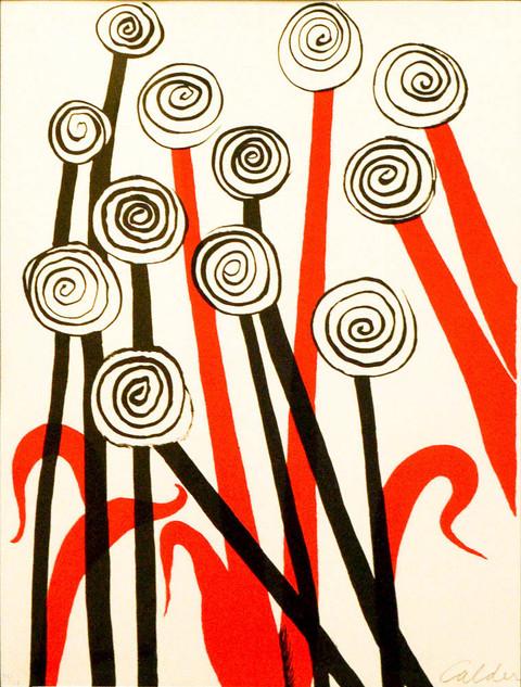 "Alexander Calder ""Les Fleurs"""
