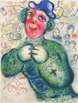 Marc Chagall - Le Cirque M. 505