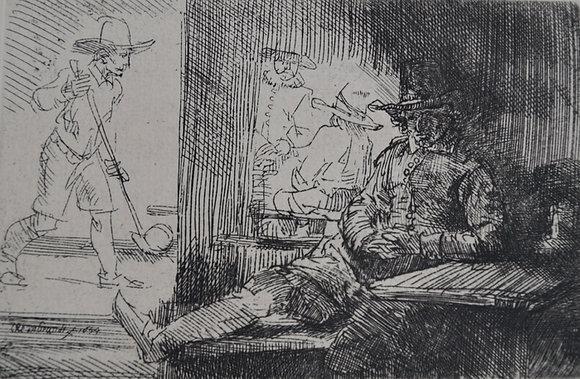 Rembrandt Harmensz Van Rijn - The Golf Player