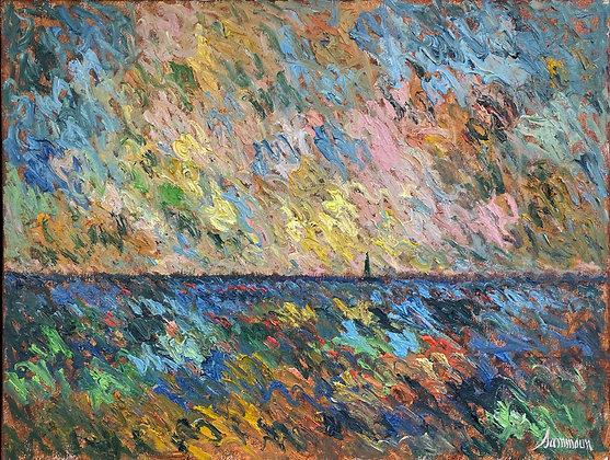 Samir Sammoun - Sunset On The Sea
