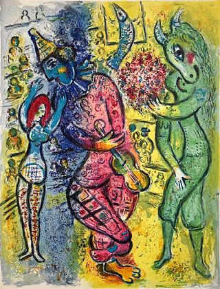 Marc Chagall - Le Cirque M. 498