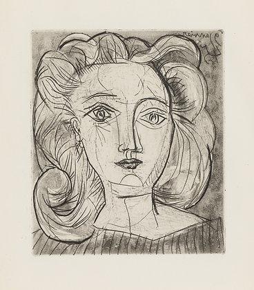 Pablo Picasso - TÊTE DE FEMME (FRANÇOISE)