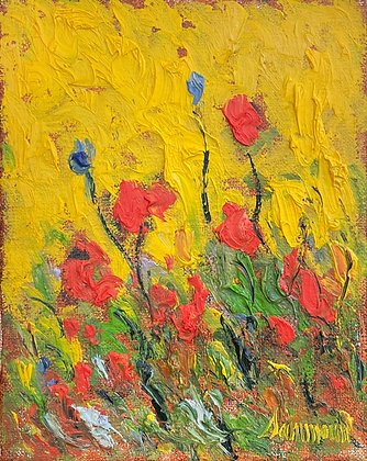 Samir Sammoun - Poppies And Sun