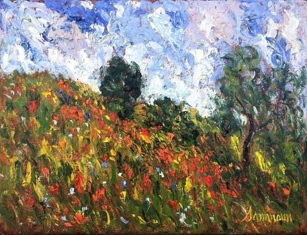 """Samir Sammoun """"Poppies Field"""""""