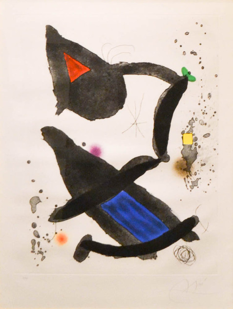 "Joan Miro ""Le Roi David"""