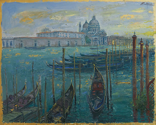 Bruno Zupan - San Giorgio seen from Doges Palace