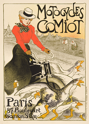 Theophile-Alexandre Steinlen - Motocycles Comiot