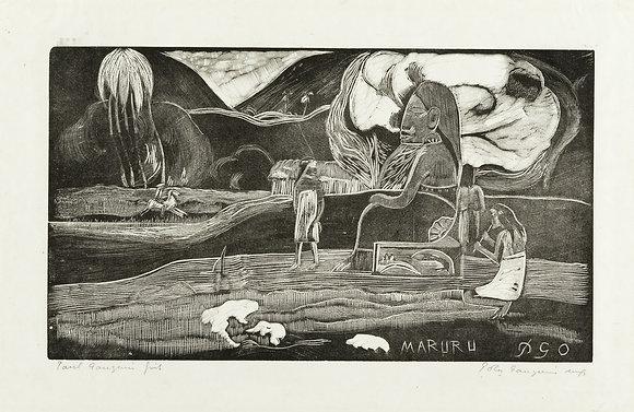 Paul Gauguin - Maruru