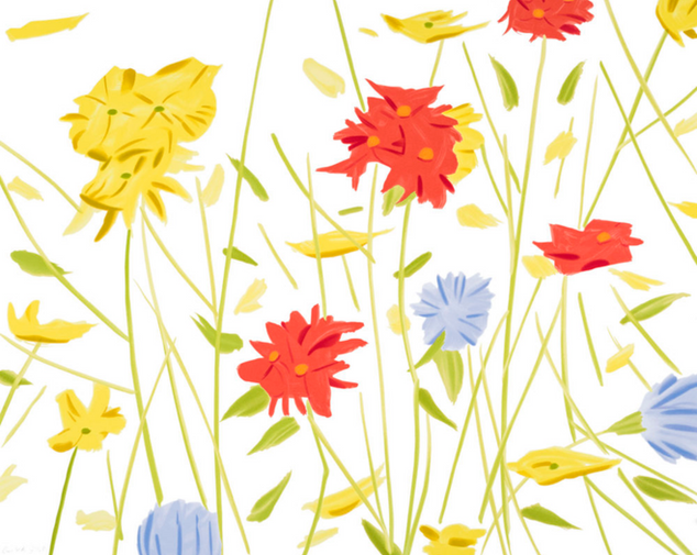 """Alex Katz, """"Wildflowers"""""""