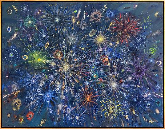 Bruno Zupan - Fireworks Green Comets