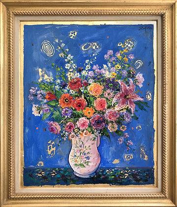 d13168_Zupan_WhitePitcherWith FlowersOnRoyalBlueGround_F