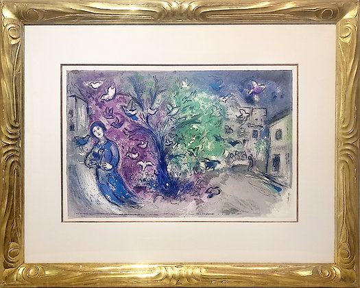 """D10013_Chagall_TheBirdChase_37 x 29"""""""