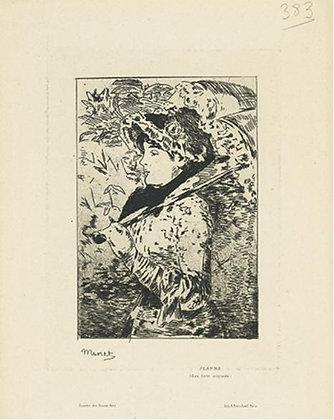 Édouard Manet - Jeanne (Le Printemps)