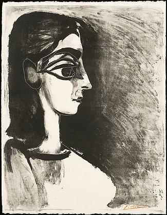 Pablo Picasso - Buste de Profil