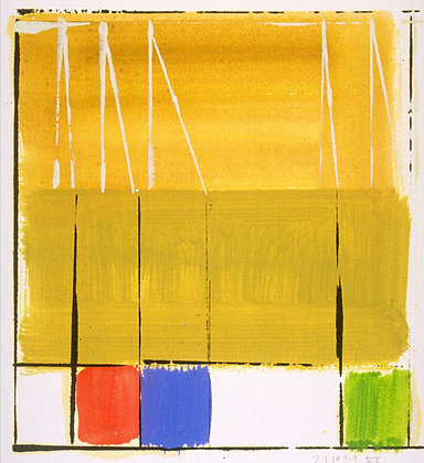 Richard Roblin - Wall Series Study #5