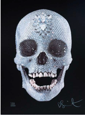 "Damien Hirst, ""For the Love of God"""