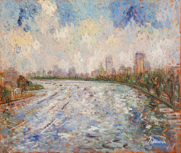"Samir Sammoun, ""Head of the Charles"""