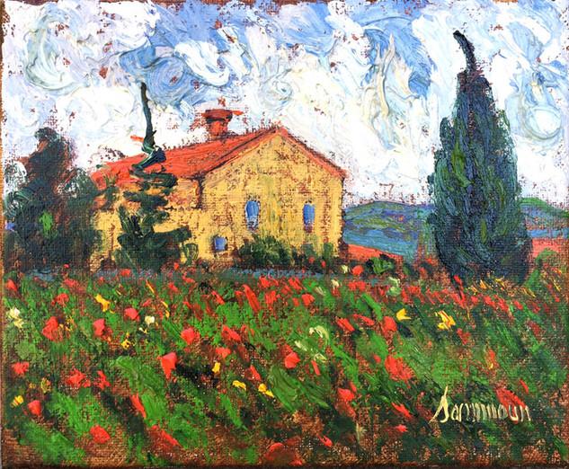 "Samir Sammoun ""Farm House, Tuscany"""
