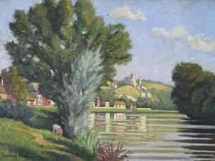 "Ludovic-Rodo, Pissarro, ""Chateau Gaillard, les Andelys"""