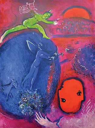 Marc Chagall - Lamon's and Dryas's Dream