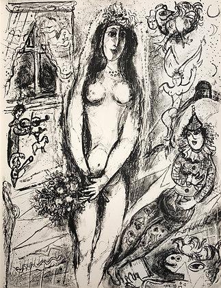 Marc Chagall - Le Cirque M. 520