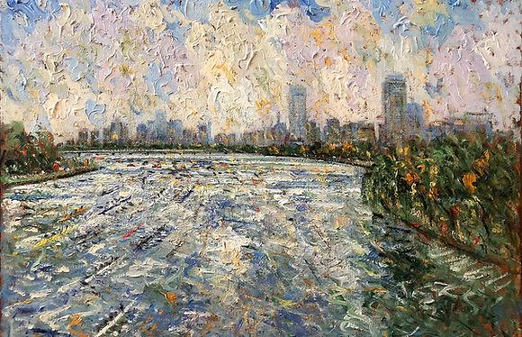 Samir Sammoun, Stroke of Genius at Galerie d'Orsay