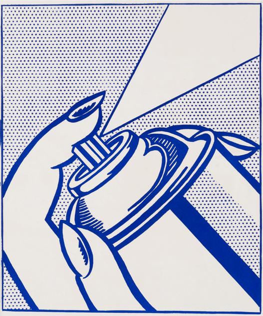 """Roy Lichtenstein, """"Spray Can"""""""