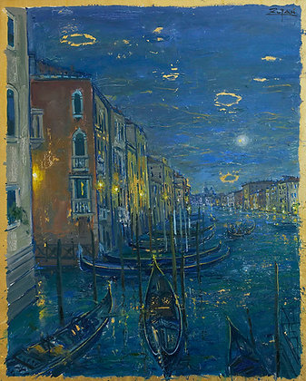 Bruno Zupan - Grand Canal Venice, View to Rialto