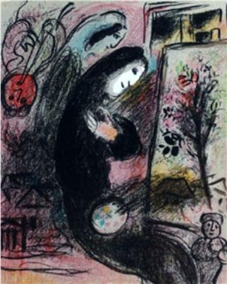Marc Chagall - The Inspiration