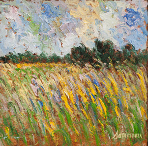 """Samir Sammoun, """"Wheat field"""""""