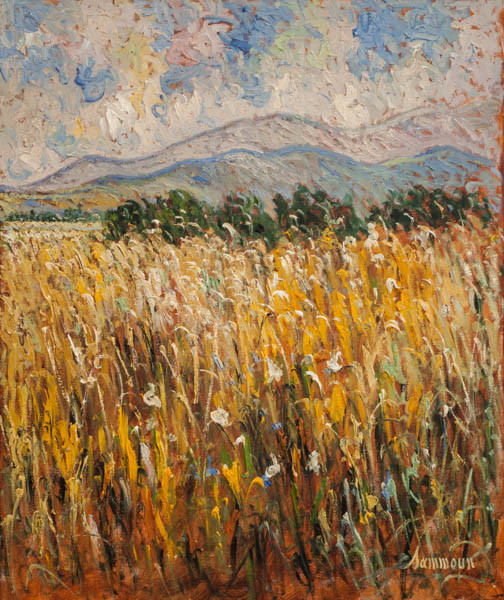 "Samir Sammoun, ""Wheat Field"""