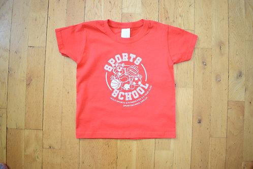 Sports School Nursery T-shirt - RED