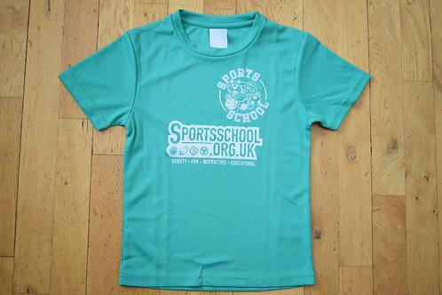 Sports School Saturday T-shirt - GREEN