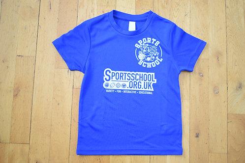 Sports School Saturday T-shirt - BLUE