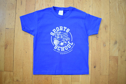 Sports School Nursery T-shirt - BLUE