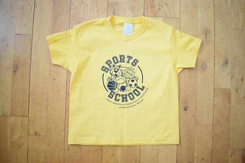 Sports School Nursery T-shirt - YELLOW