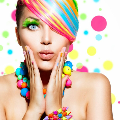 Be multicoloured