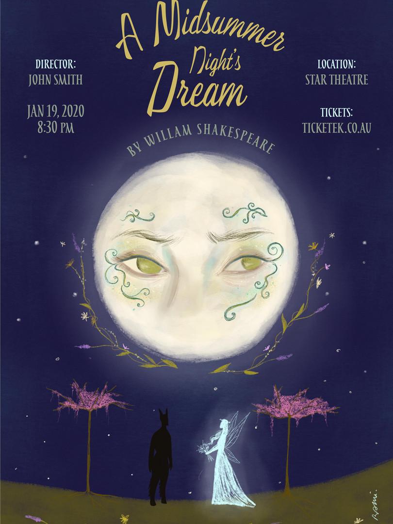 midsummer-night's-dream poster design.jp