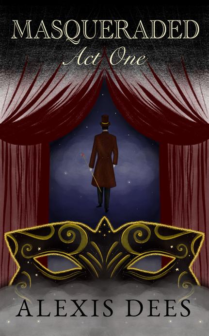 Masqueraded book cover