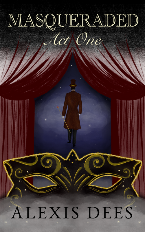 Masqueraded cover design