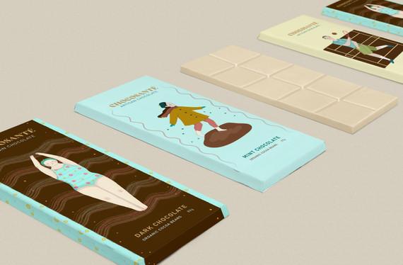 Chocolate sample