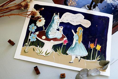 Alice In Wonderland- The Caterpillar