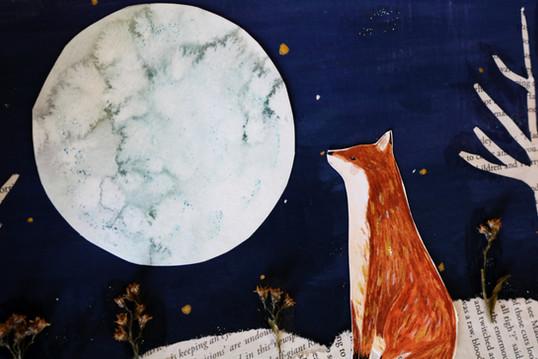 Enchanted Woodland Fox