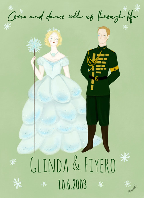 Wicked Wedding Invitation