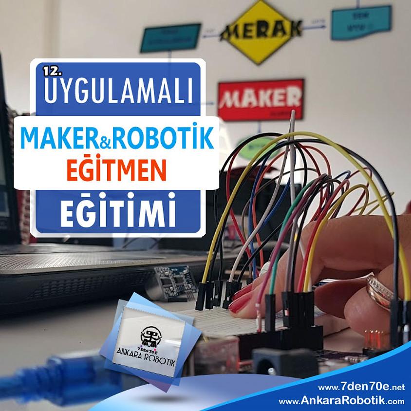 12. Maker Robotik Eğitmenlik Eğitimi (1)