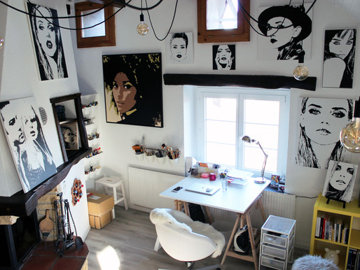 Nouvel atelier  |  New studio